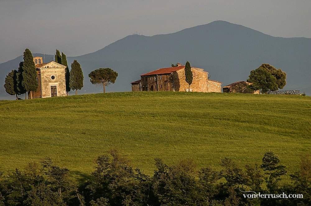 Vitaleta Chapel     Tuscany Italy
