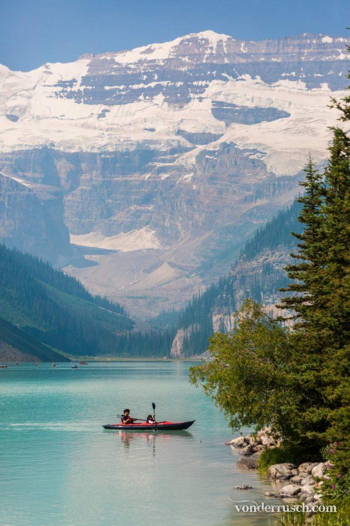 Morning Kayak     Lake Louise Canada