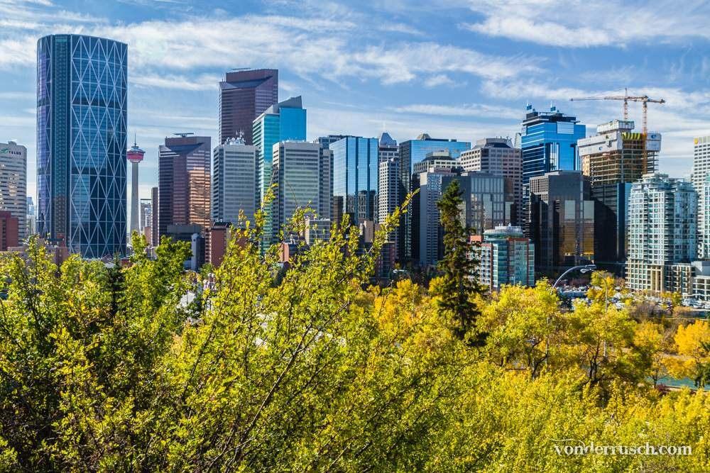 Fall in Calgary     Alberta Canada