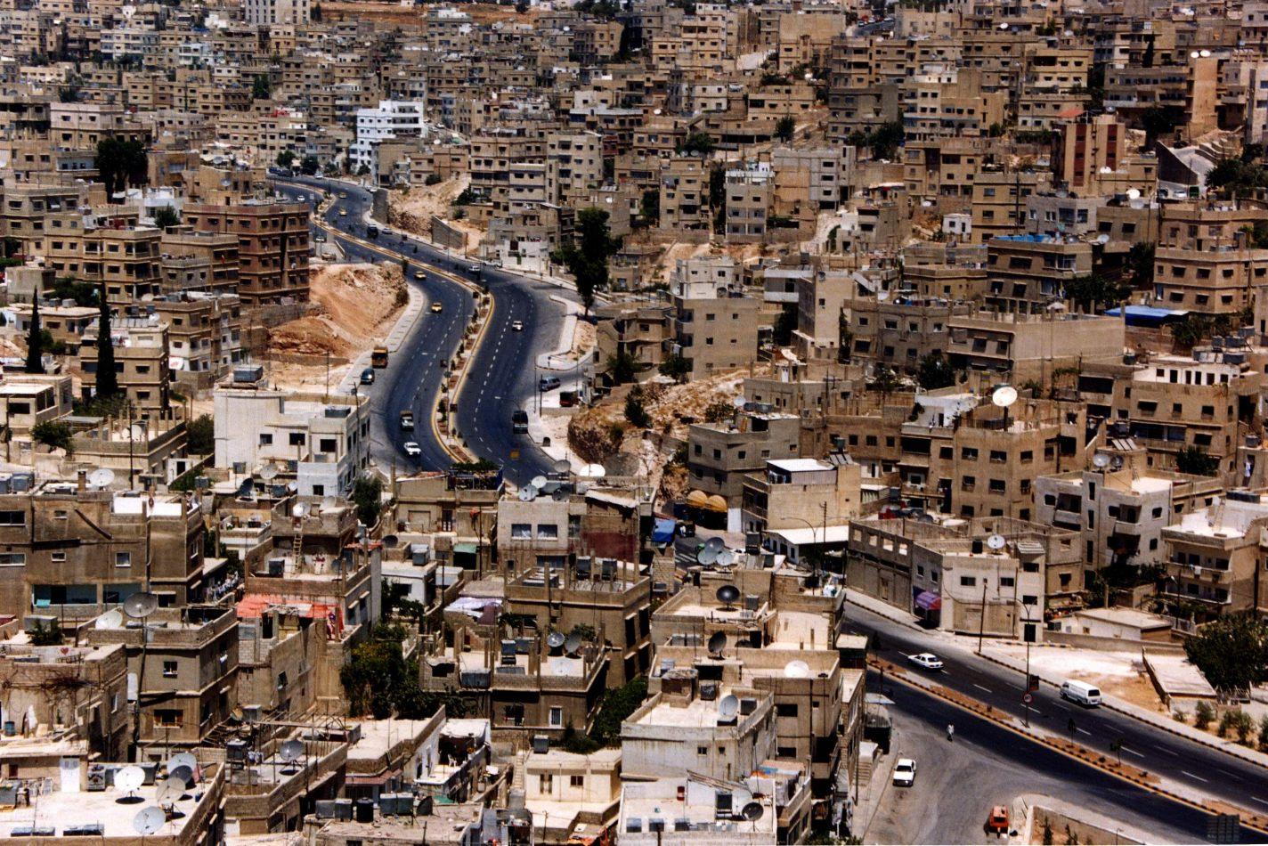 Anthony Ellis Photography: Noon Heat - Road Through Amman
