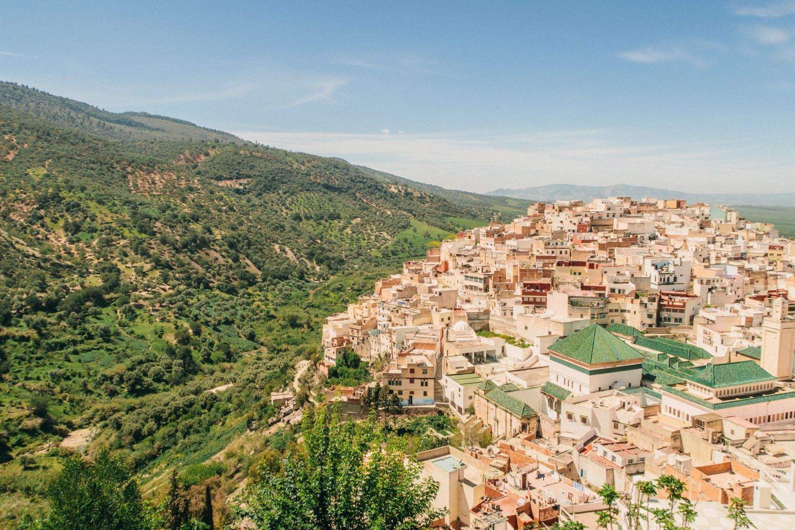 Die heilige Stadt Moulay Idris