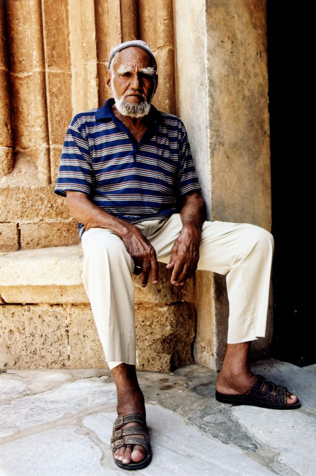 Anthony Ellis Photography: Ruins of the Missing - Man in the Doorway of Famagusta Mosque