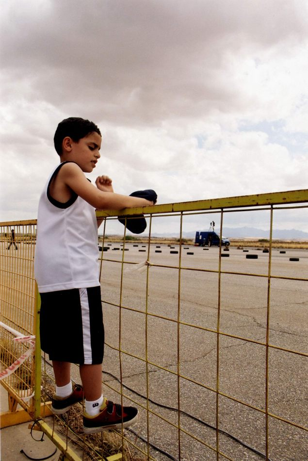 Anthony Ellis Photography: Ruins of the Missing - Boy on the Fence at Nicosia Airport