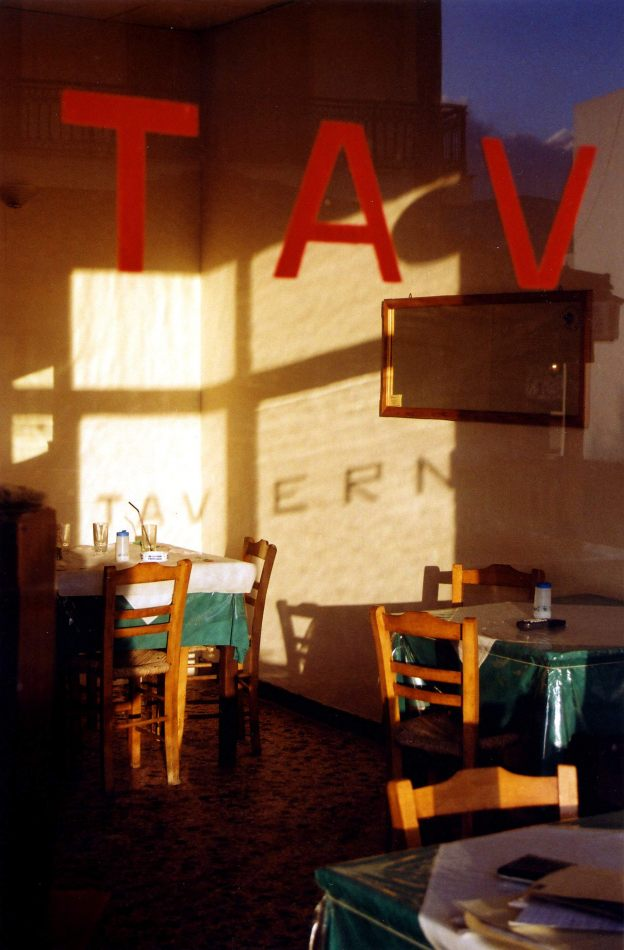 Anthony Ellis Photography: The Eye of a Foreign Language - Taverna