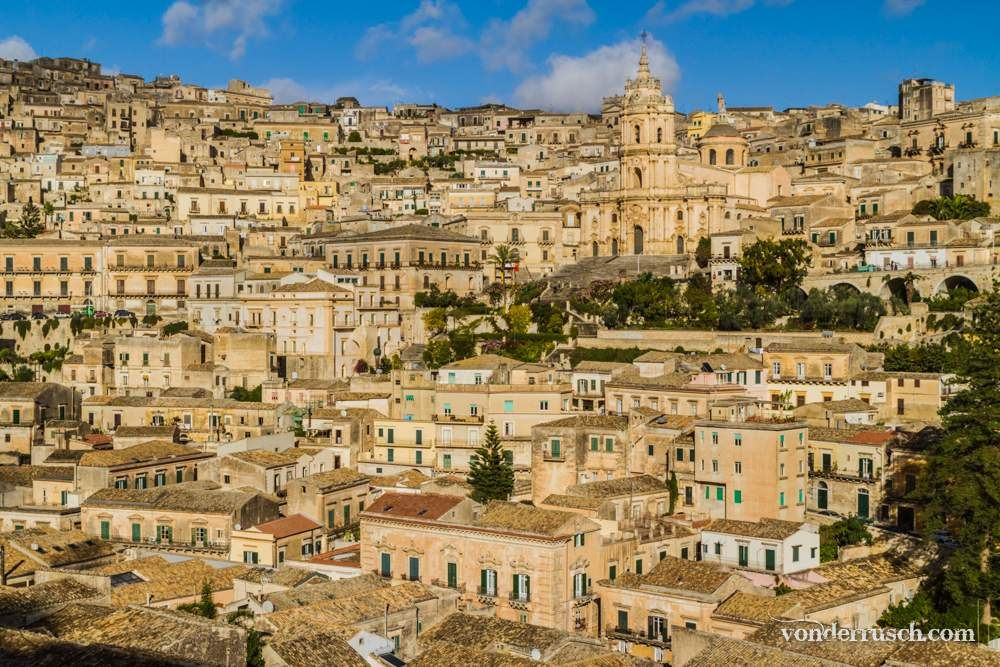 Hills of Modica     Sicily Italy