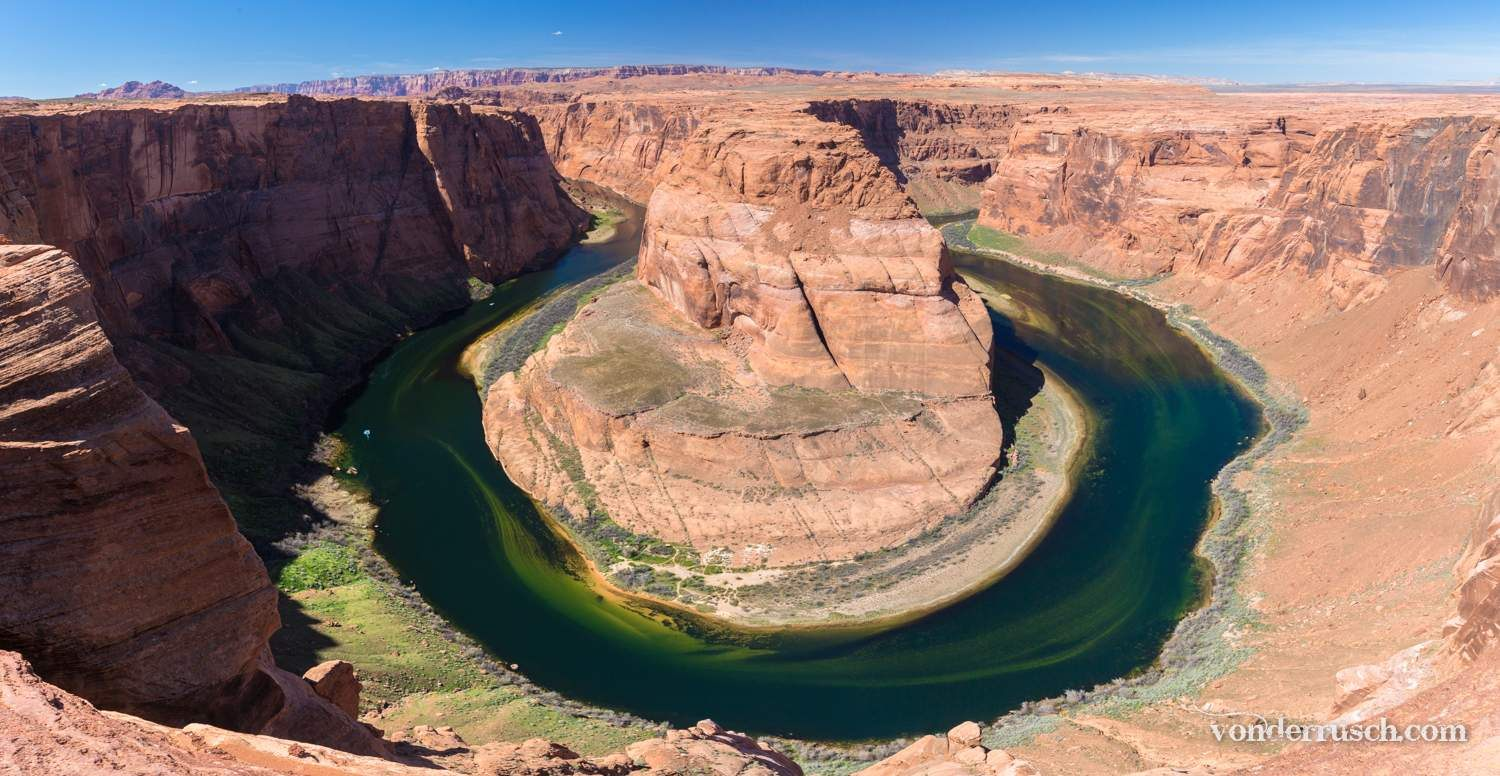 Bend in the River     Horseshoe Canyon USA