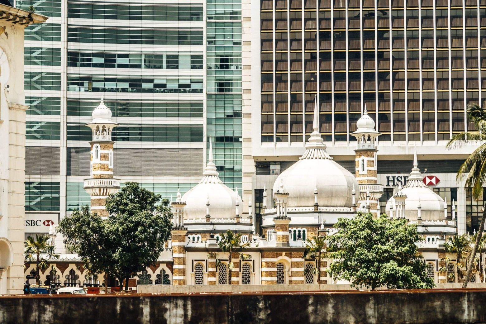 Jamek Moschee  Kuala Lumpur