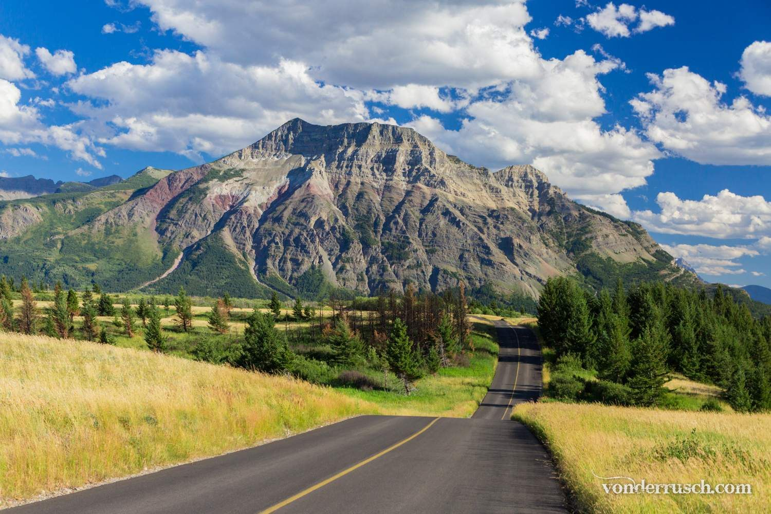 Mountain Road     Waterton Lakes NP Canada