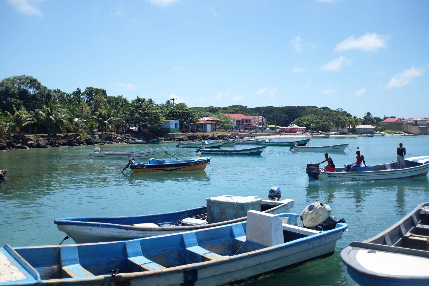 Hibiscus & Nomada : - - Ferry Dock Big Corn Island