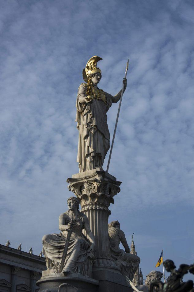 Herbst's portfolio: Vienna - Pallas Athene Parlament