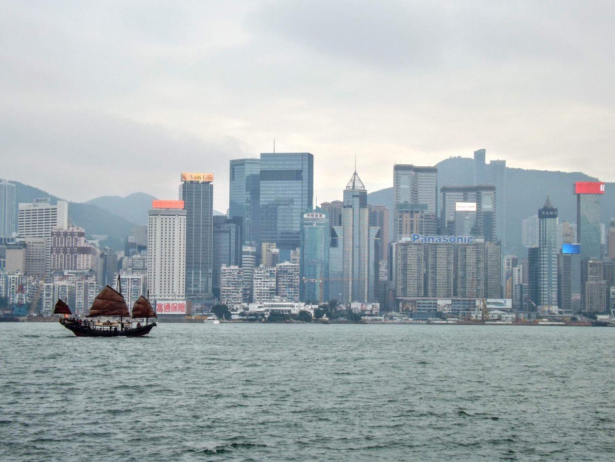 Hibiscus & Nomada : Hong Kong - Hong Kong Harbour
