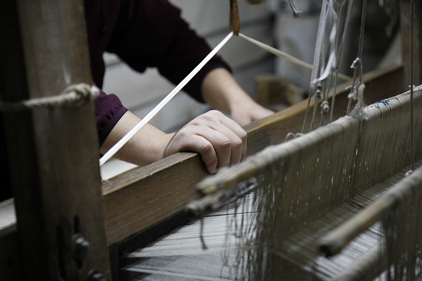 Anthony Ellis Photography: Shadows and Steps - Hand on the Loom