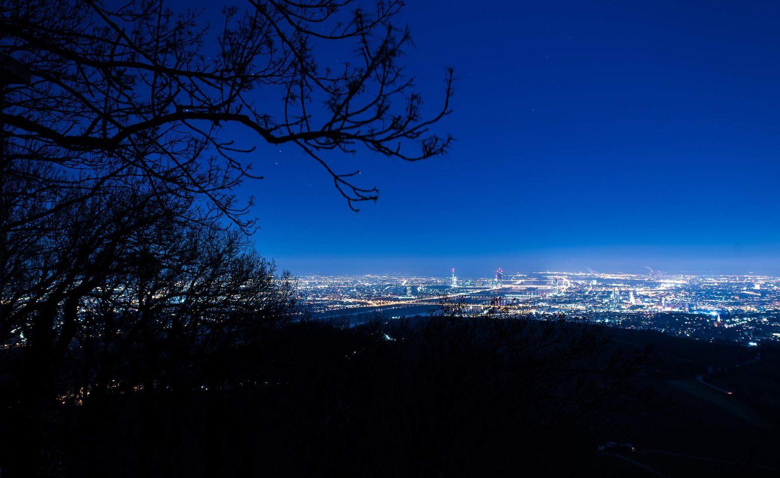 Herbst's portfolio: Vienna - Panorama Nacht