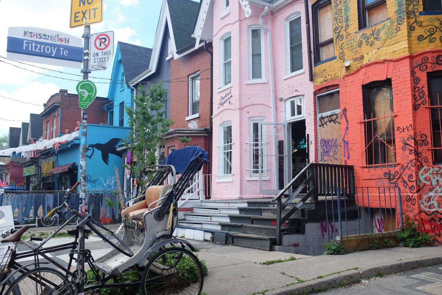 Hibiscus & Nomada : Canada - Kensington Market