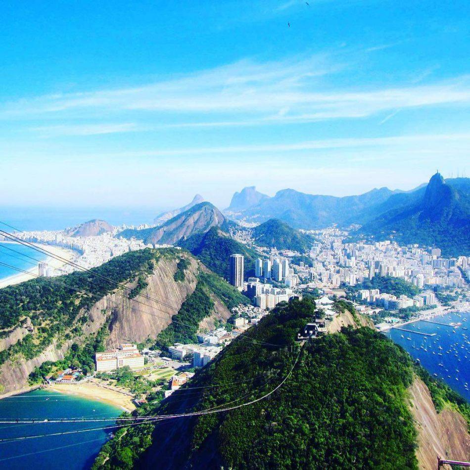 Hibiscus & Nomada : Brazil - Sugar Loaf View