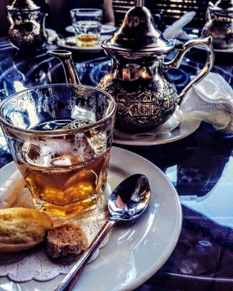 Hibiscus & Nomada : Marrakech - Cafe de la Poste