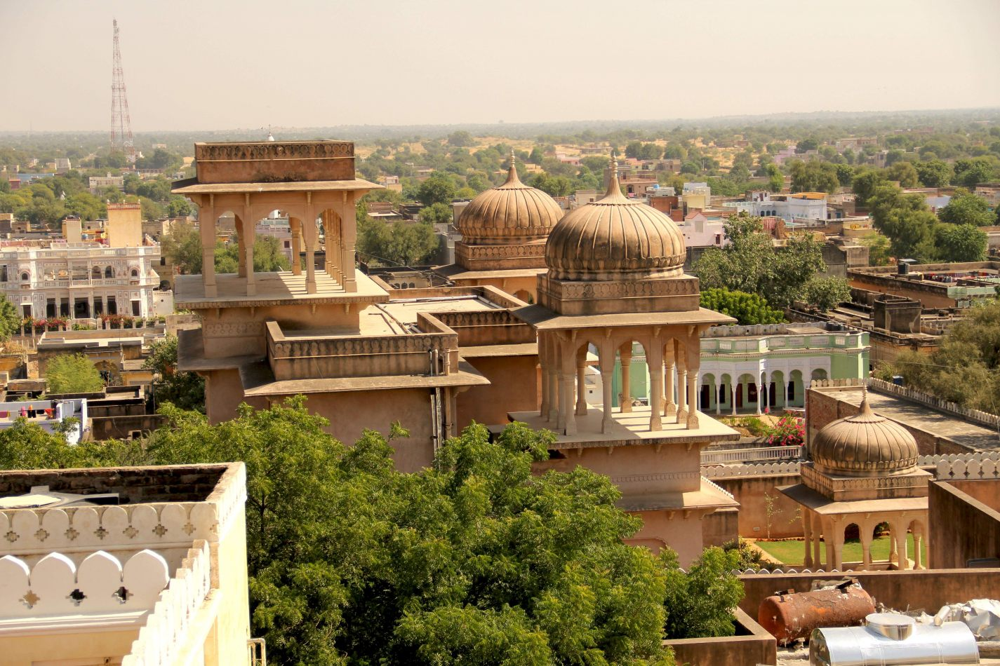 Hibiscus & Nomada : Mandawa  Rajasthan