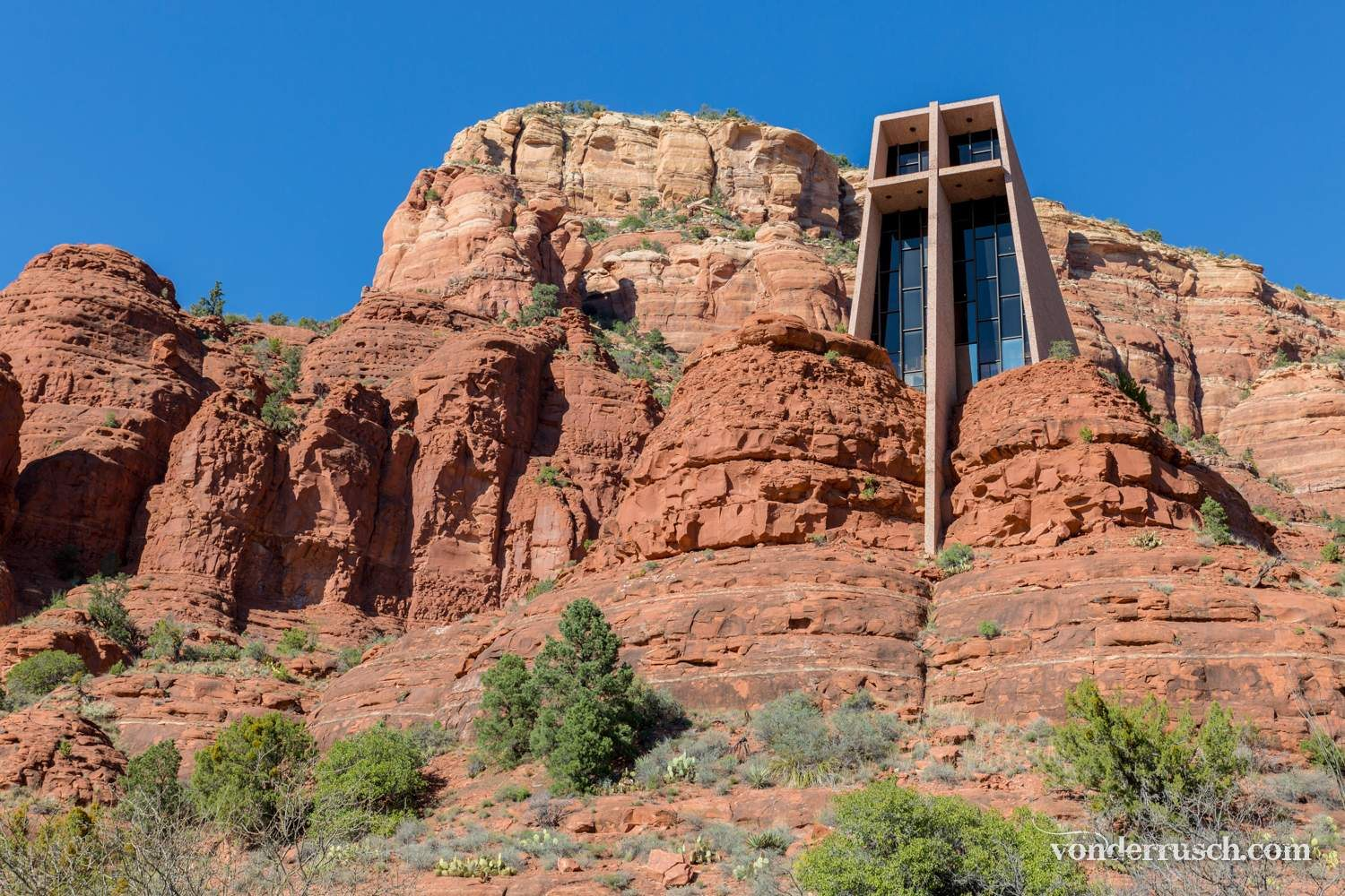 Chapel of the Holy Cross     Sedona USA