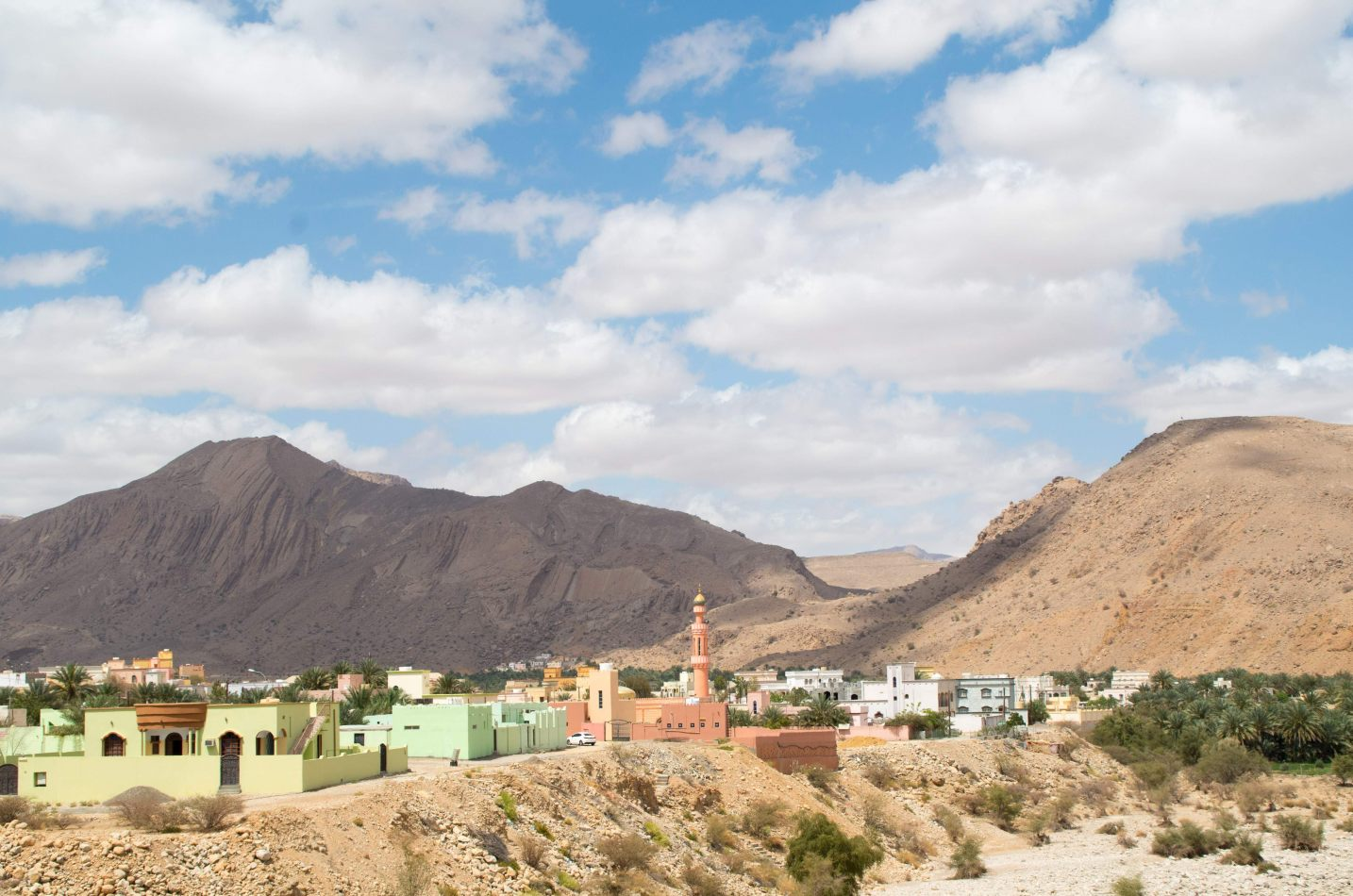 Hibiscus & Nomada : Oman - Village in Djebel Shams