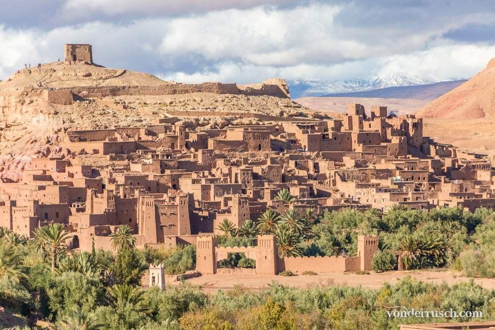 Ksar of A� t Benhaddou     Ouarzazate Morocco
