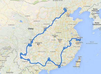 China 2006 travel blog Podróż po Chinach 2006