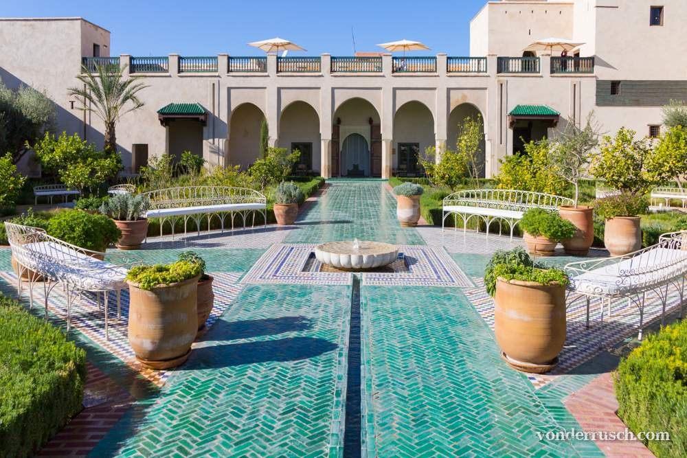 Le Jardin Secret     Marrakesh Morocco