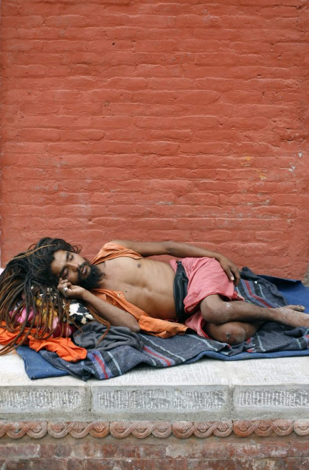 Anthony Ellis Photography: Transition - Sleeping Sadhu