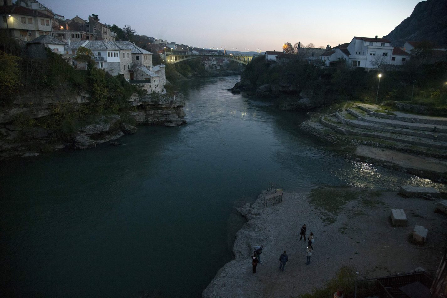 Anthony Ellis Photography: Empty Shells - The View from Mostar Bridge