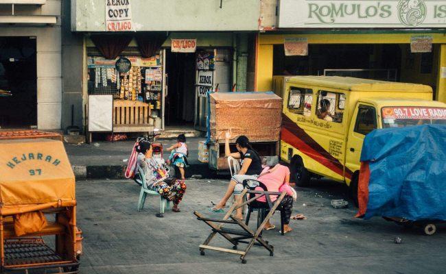 Manila Gespenster sehen