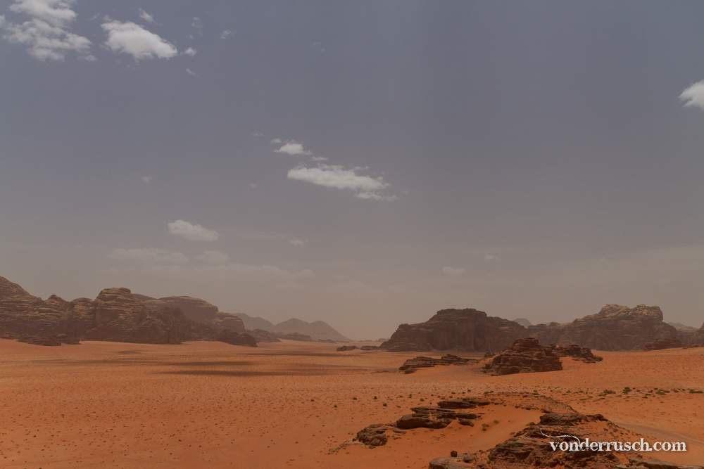 Middle of the Desert     Wadi Rum Jordan