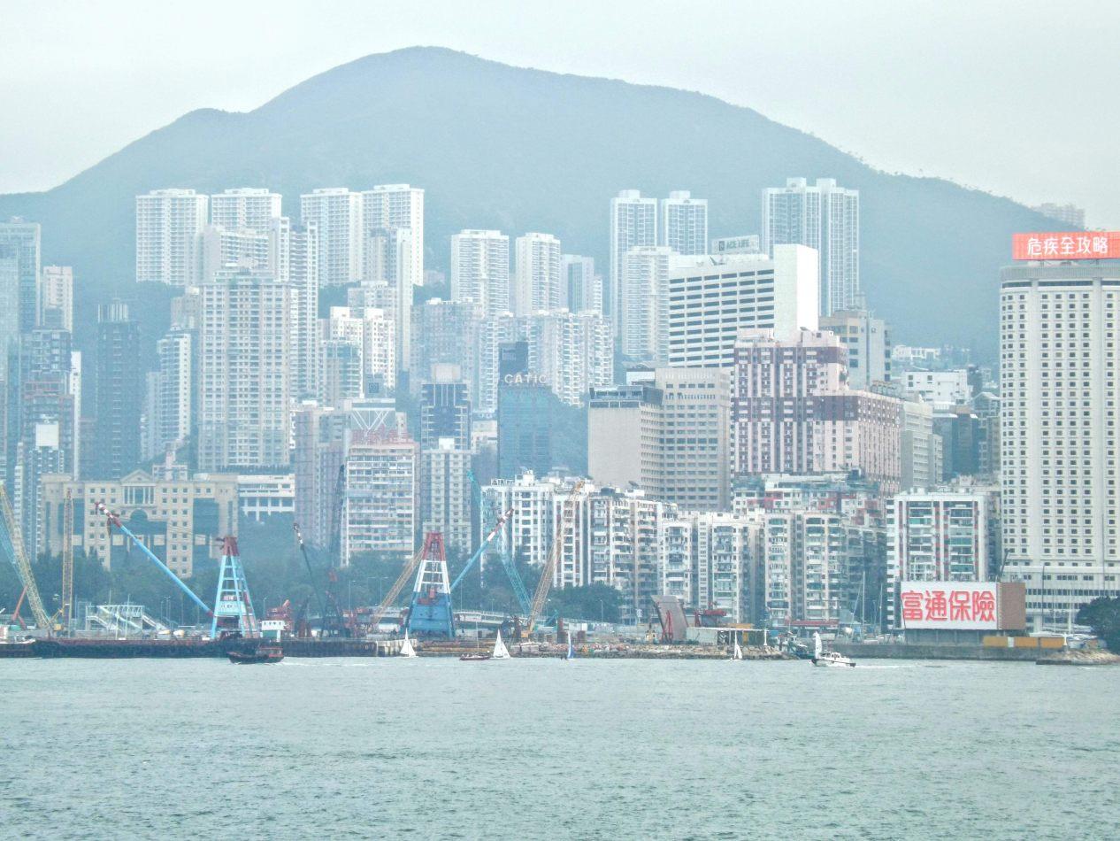 Hibiscus & Nomada : Hong Kong - Tsim Sha Tsui promenade