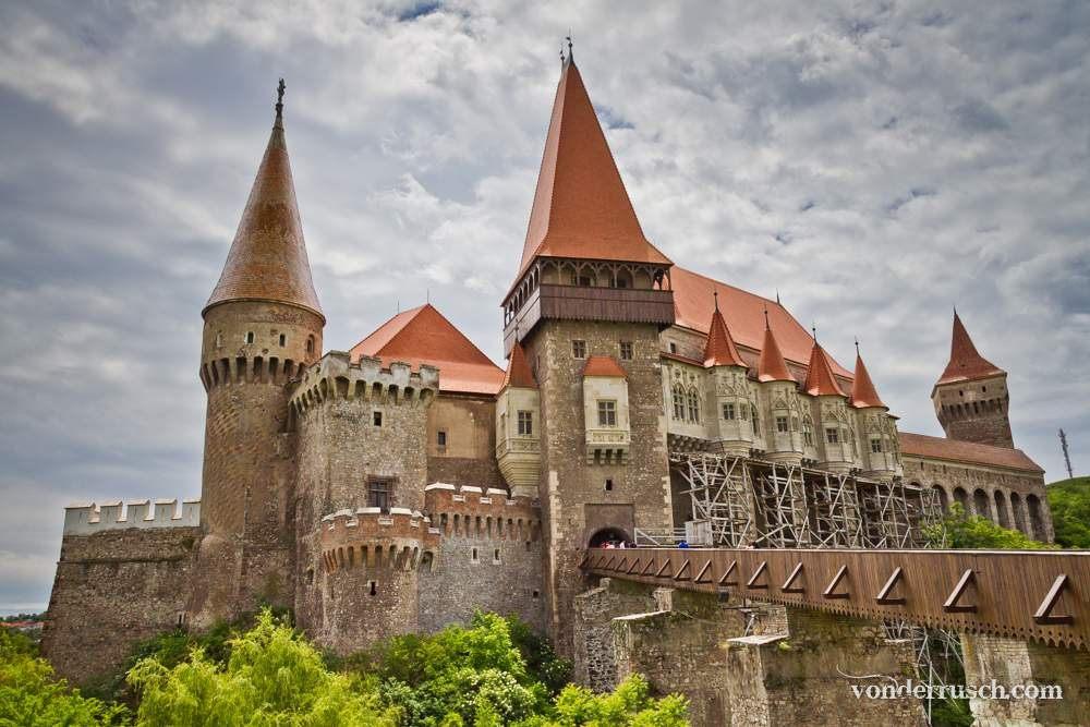 Corvin Castle     Hunedoara Romania
