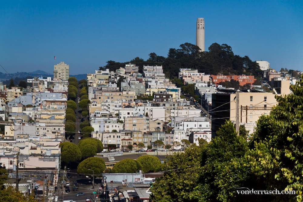 Telegraph Hill     San Francisco USA