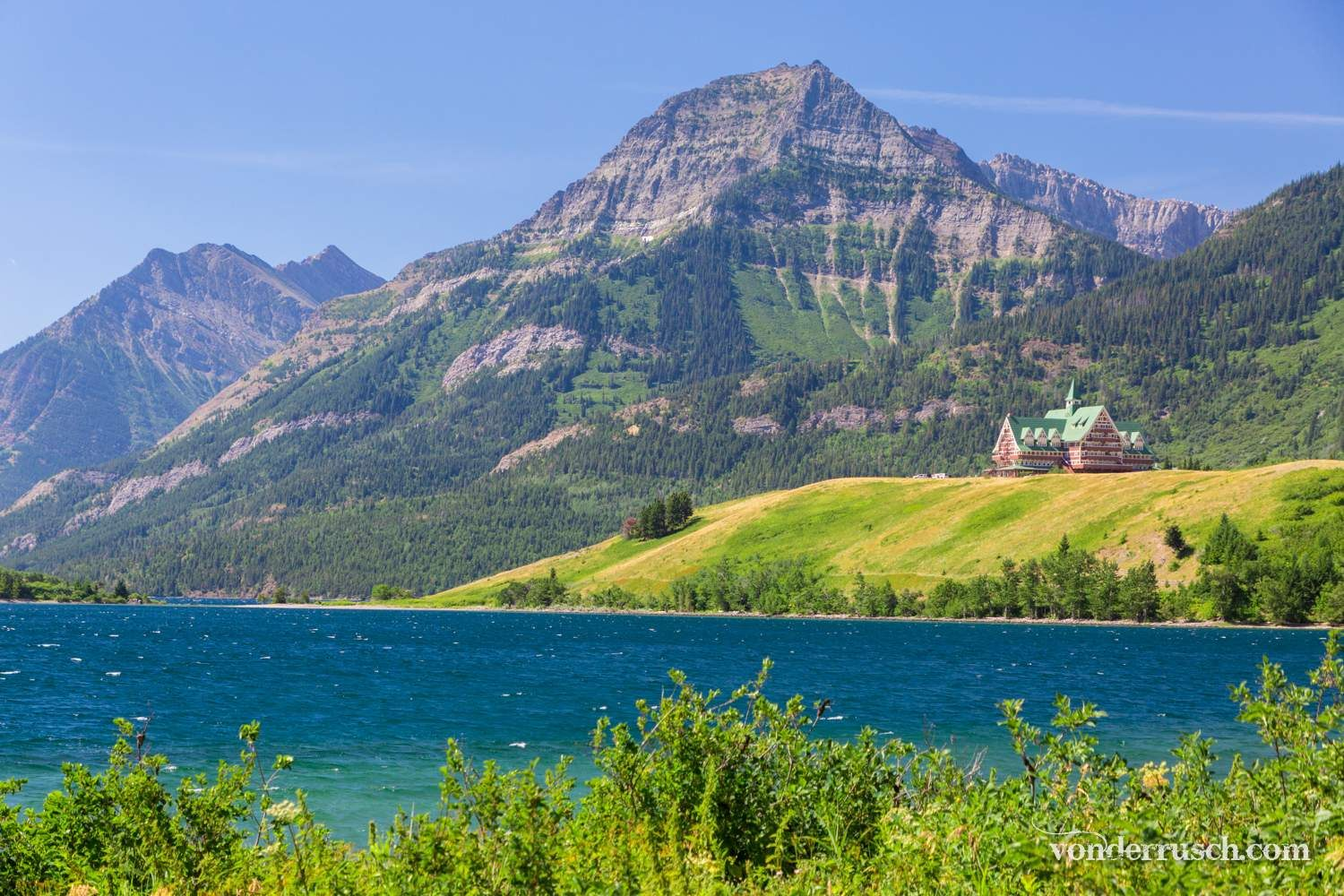 Lakeside Lookout     Waterton Lakes NP Canada