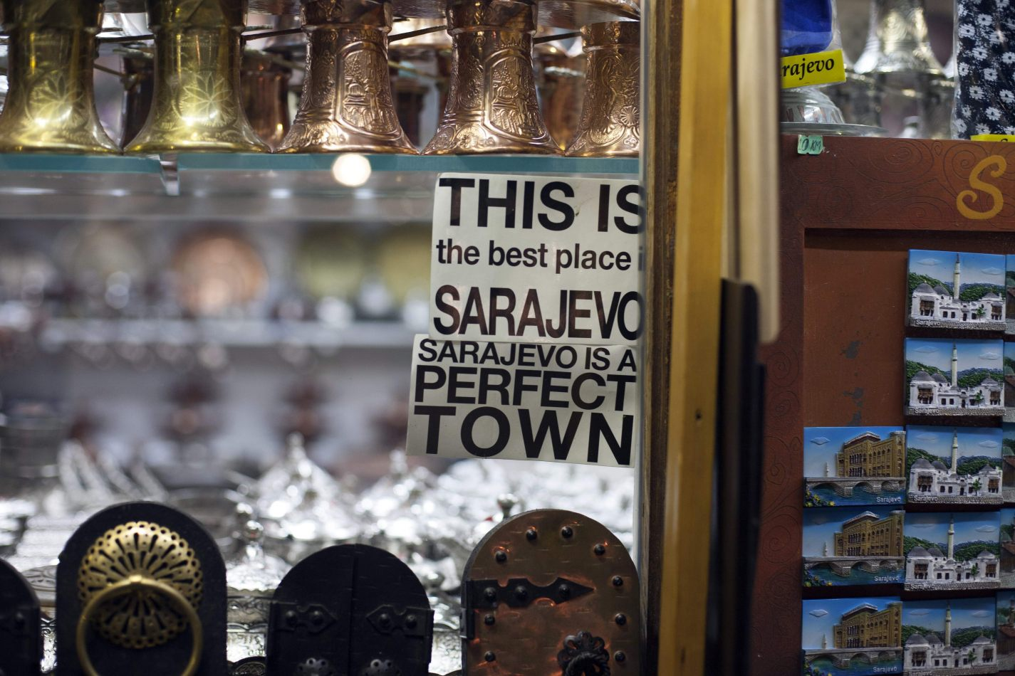 Anthony Ellis Photography: Empty Shells - This is the Best Place is Sarajevo