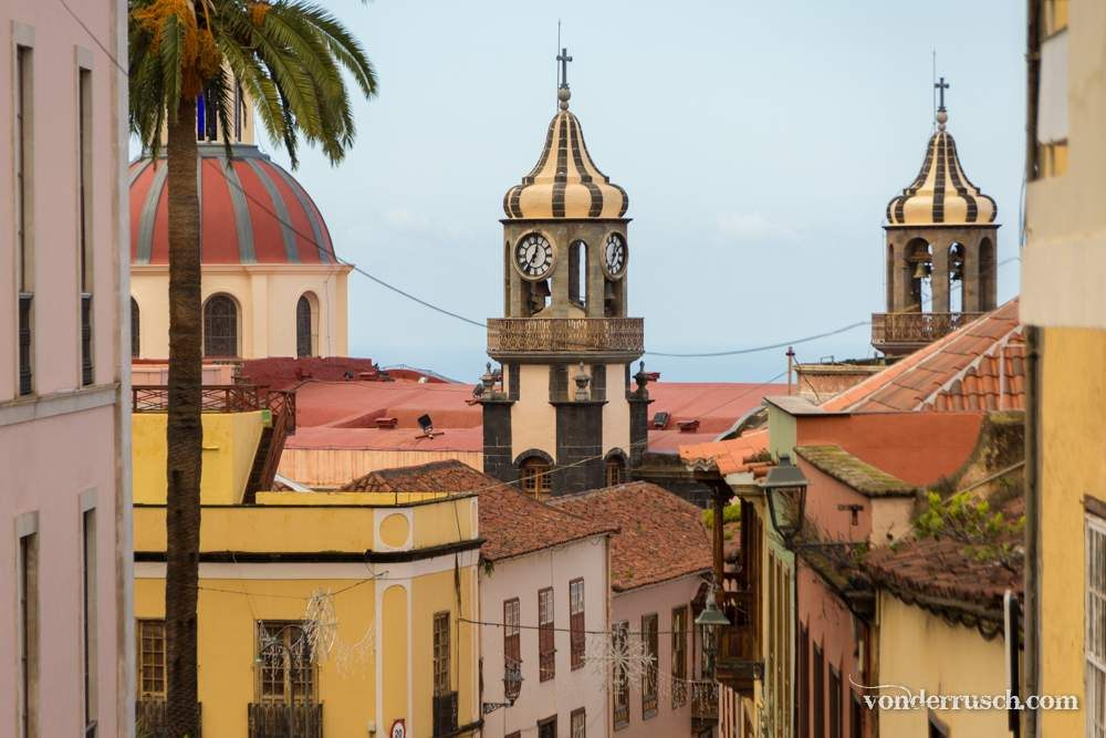 La Orotava Old Town     Tenerife Canary Islands