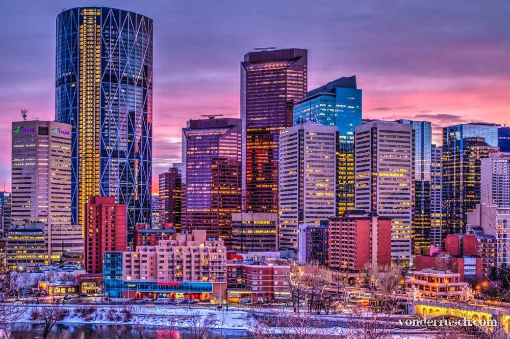 Purple YYC     Calgary Canada