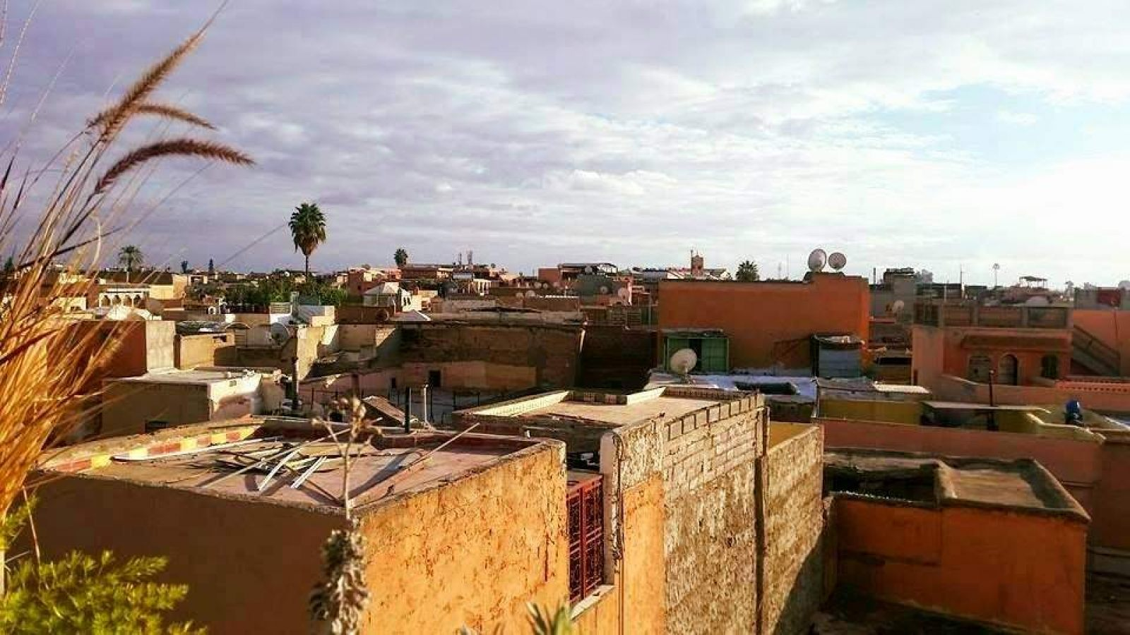 Hibiscus & Nomada : Marrakech - View over Marrakech