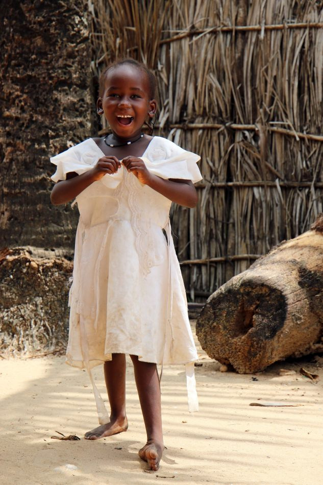 Anthony Ellis Photography: Mzungu - Little Girl in a White Dress