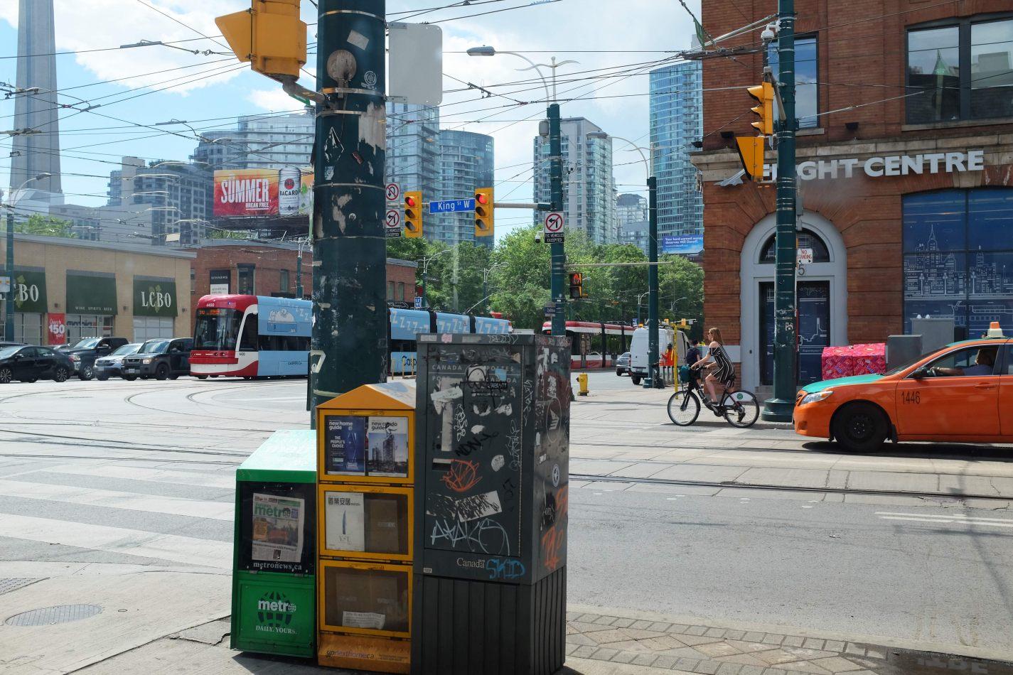 Hibiscus & Nomada : Canada - Spadina Avenue