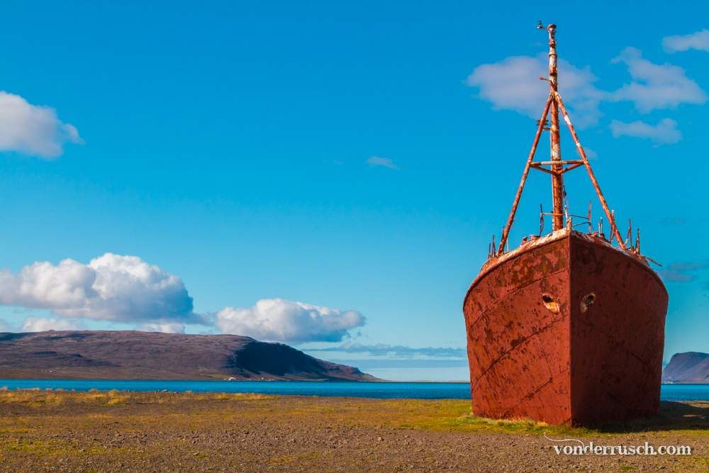 Beached Boat Iceland