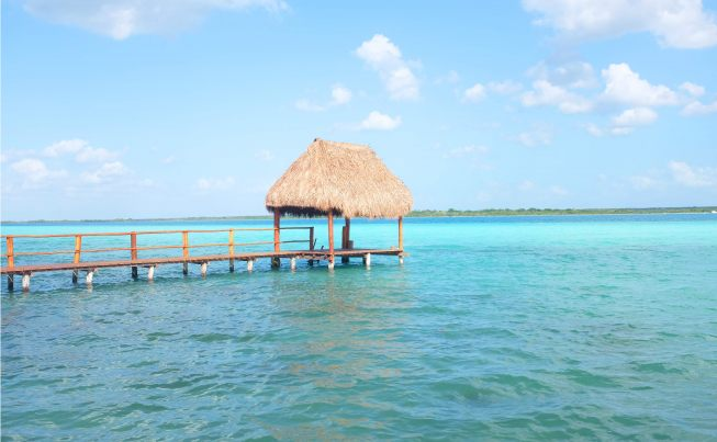 One Day in Bacalar Lagoon