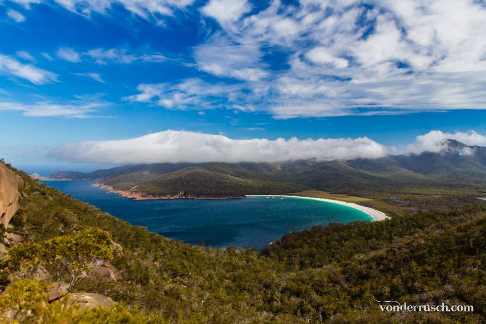 Wineglass Bay     Tasmania Australia