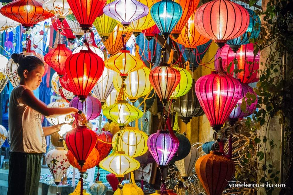 Colourful Lanterns     Hoi An Vietnam