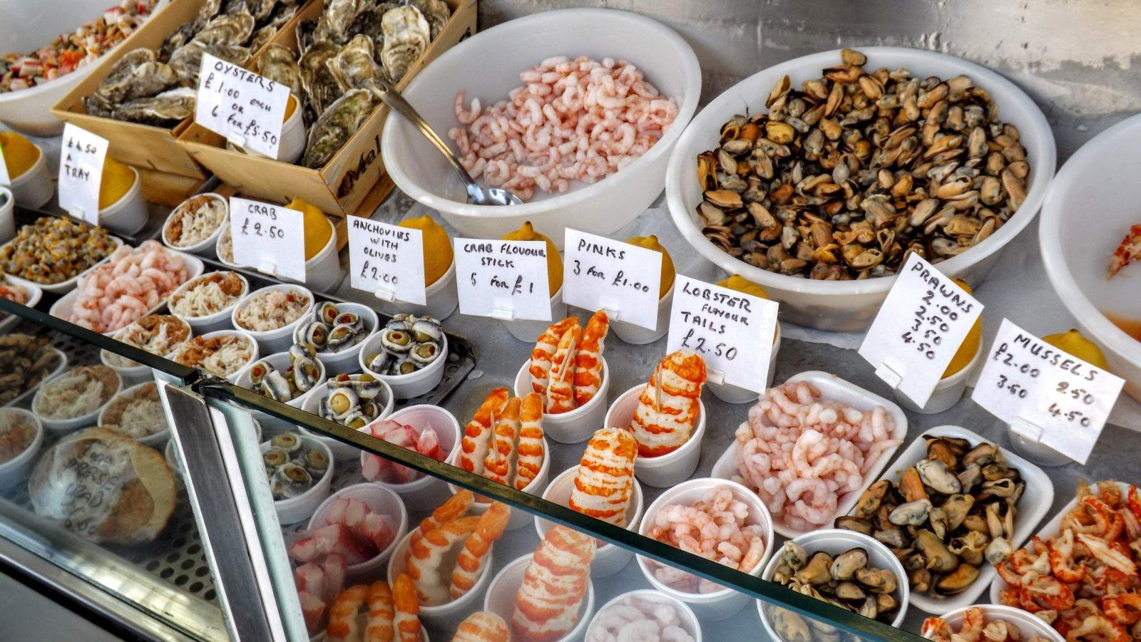 Hibiscus & Nomada : Brighton - Seafood