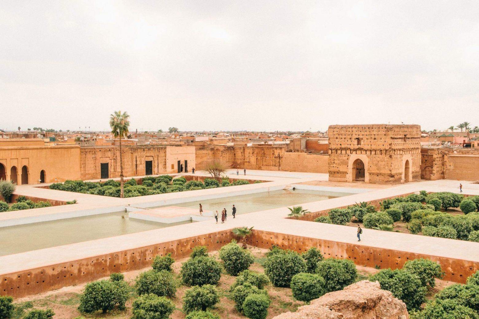 El Badi Palast in Marrakesch