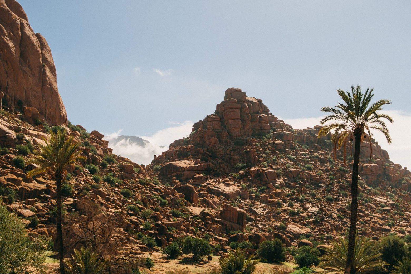 Felsformationen in Tafraoute