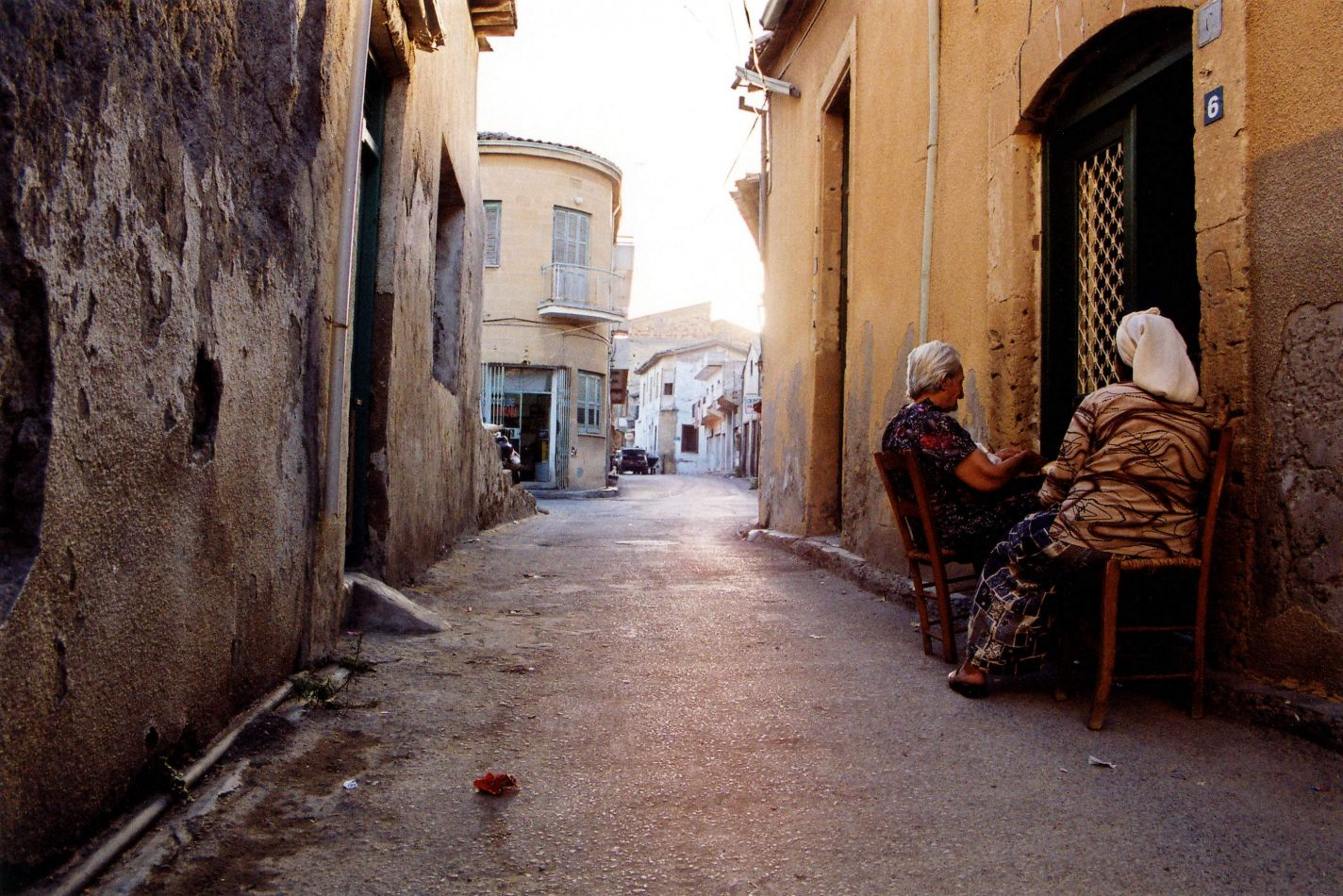 Anthony Ellis Photography: Ruins of the Missing - Old Turkish Women Watching Television