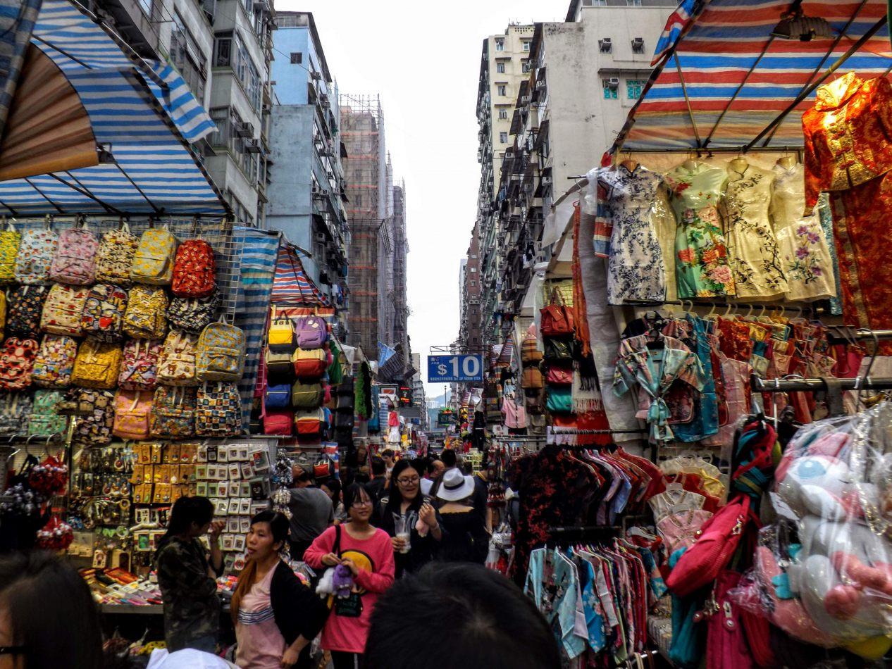 Hibiscus & Nomada : Hong Kong - Ladies Market