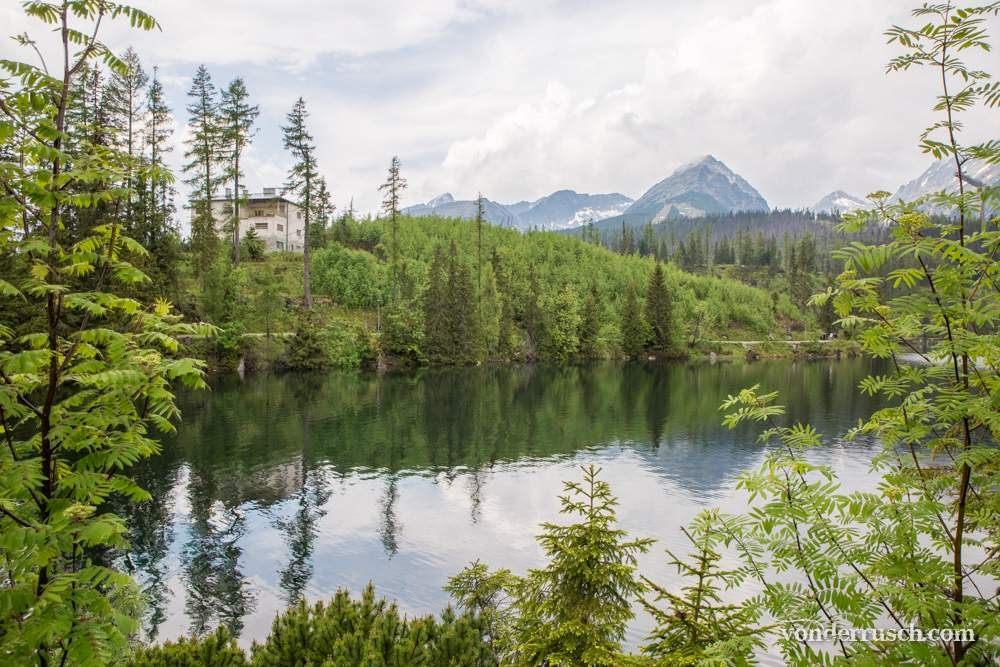 Tatra Mountain Lake Slovakia